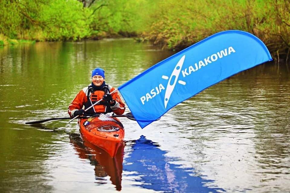 Pasja Kajakowa maraton Parsęta 84 km